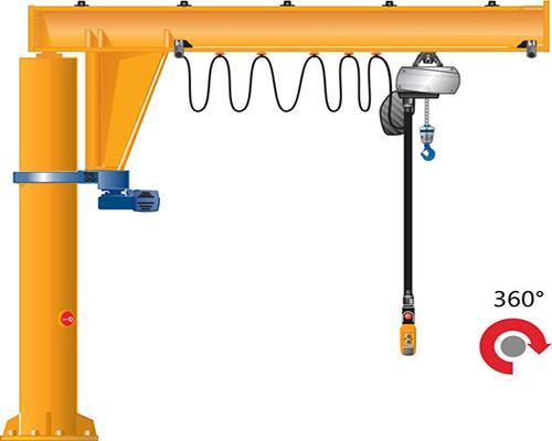 立柱式悬臂吊
